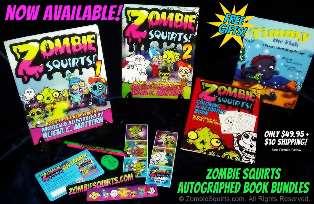 Anti bullying Zombie Squirts