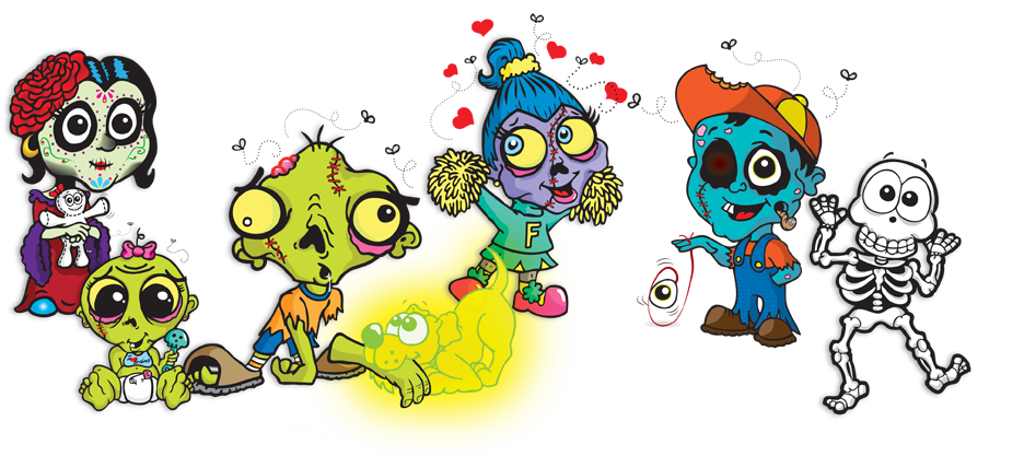 Zombie antibully children's books