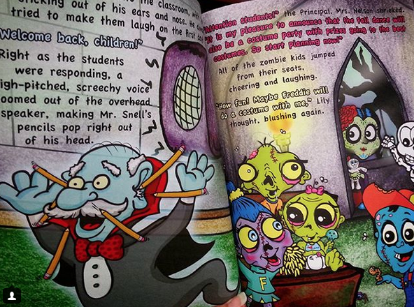 Anti-bullying zombie books